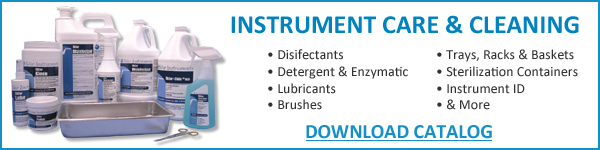 Instrument Care & Cleaning Catalog Request