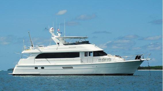 exterior cruiseship in ocean
